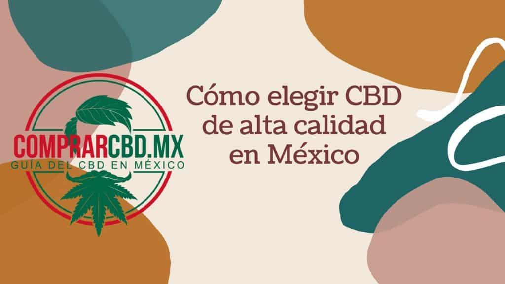 Comprar CBD en México