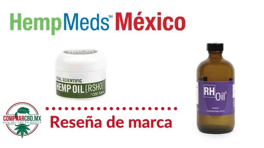 HempMeds Mexico Reseña de marca
