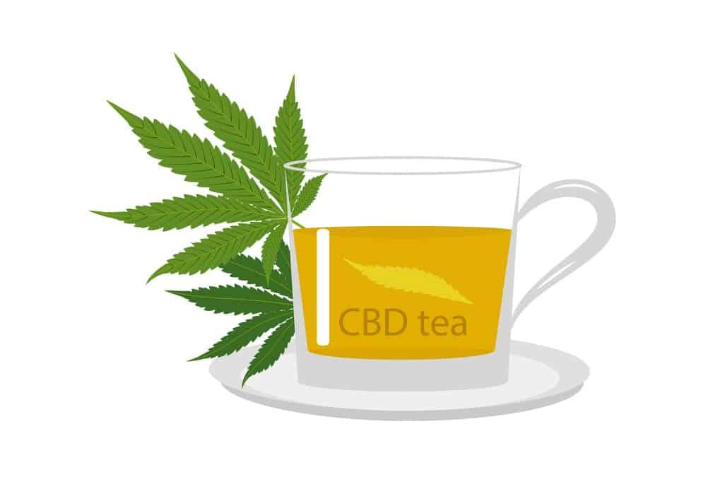 Té de cannabis, marihuana, CBD